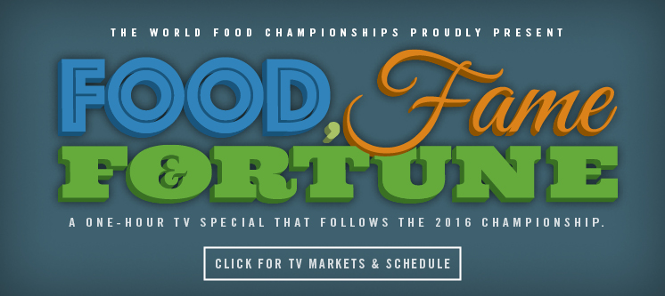 2016 Food Fame & Fortune