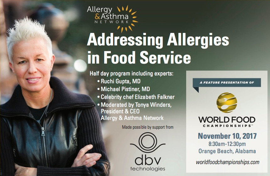 Food Allergy Event Poster