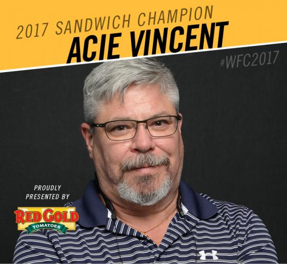 "An ""Acie"" Performance Propels Florida Chef into World Sandwich Championship"