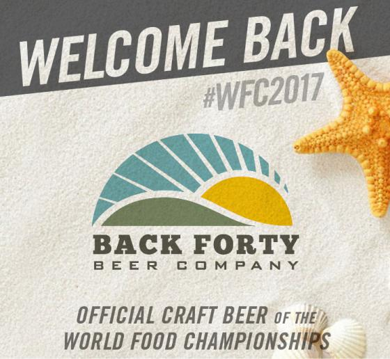 Back Forty Beer Pouring Back into WFC