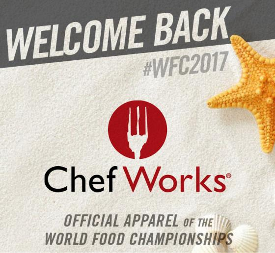 Chef Works Adds Culinary Style to WFC 2017 Category Winners