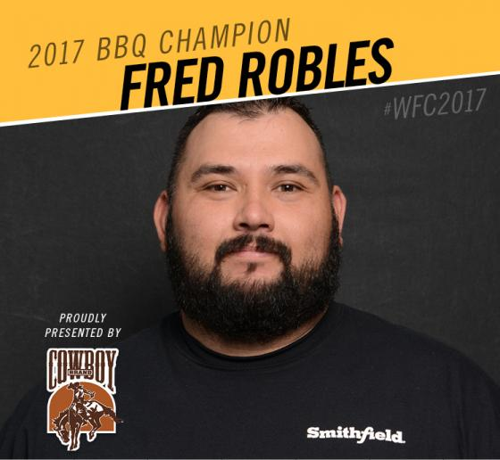 WFC Rookie Competitor Takes World Barbecue Championship