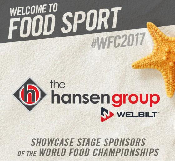 The Hansen Group and Welbilt Join WFC to Showcase Innovation & Food Champs