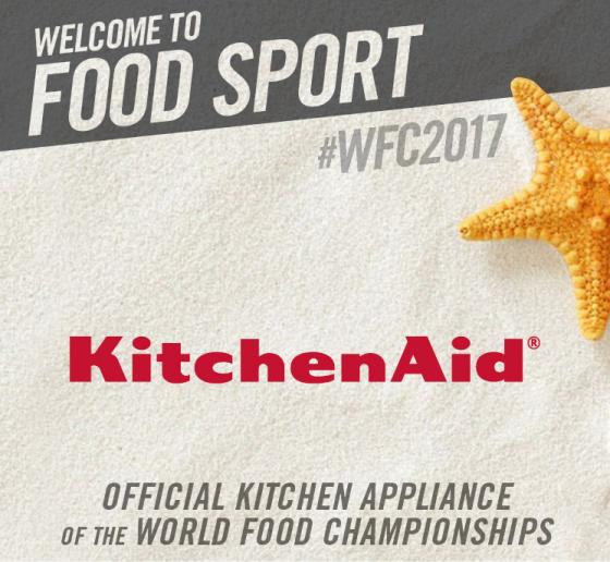 KitchenAid Joins WFC for its Food Sport Debut