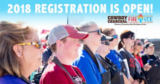 Cowboy Charcoal Releases More Details & Opens Registration for 2018 Fire & Ice Women's Barbeque Series