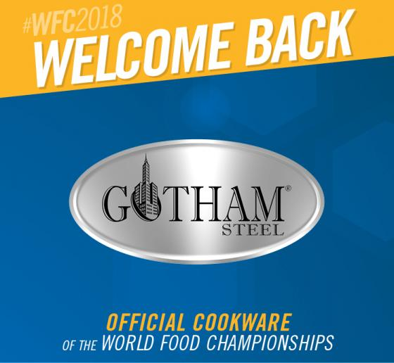 Gotham Steel Returns to WFC as Official Cookware Partner