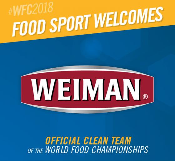 WFC Welcomes Weiman as Food Sport's All-Star Clean Team