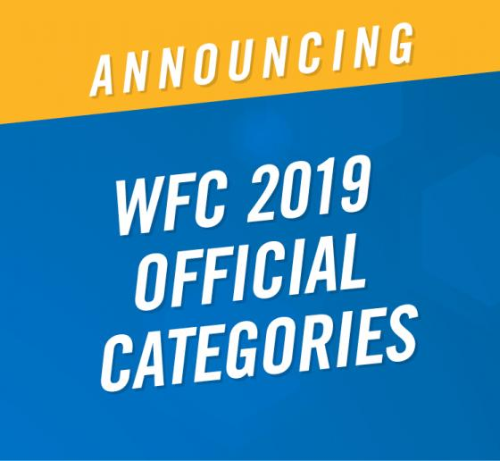The World Food Championships Announces Official 2019 Categories