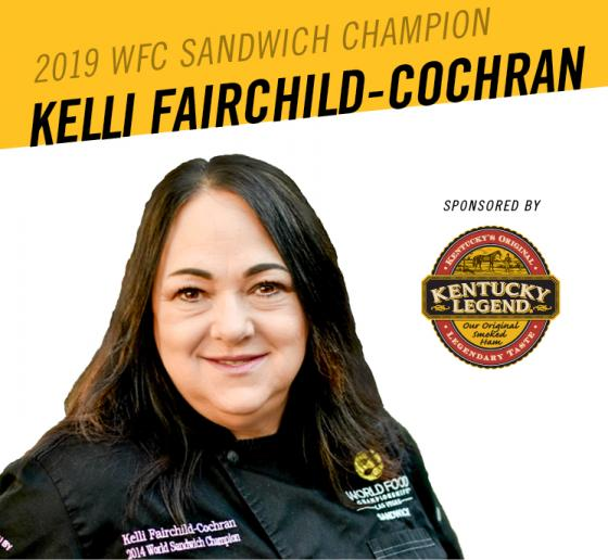 California Caterer Earns $10,000 and Two-Time World Sandwich Champion Title