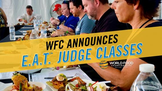 "WFC Announces ""Licensed to E.A.T™"" Classes for 2020"