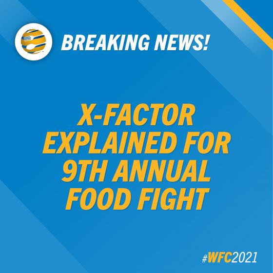 WFC Explains X-Factor Element For 9th Annual Food Fight