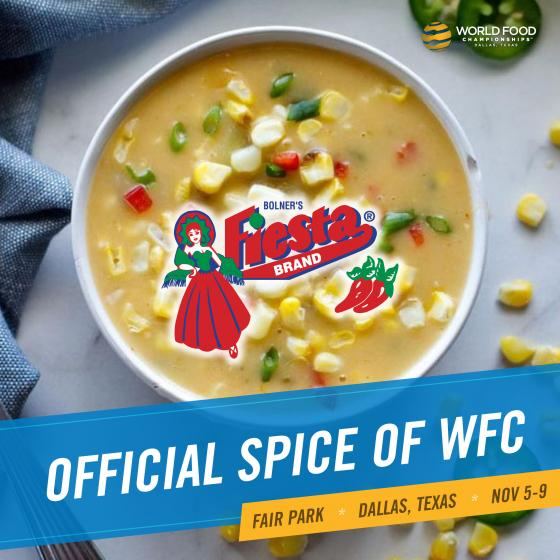 Bolner's Fiesta Brand Continues To Add Flavor To Food Sport's Biggest Event