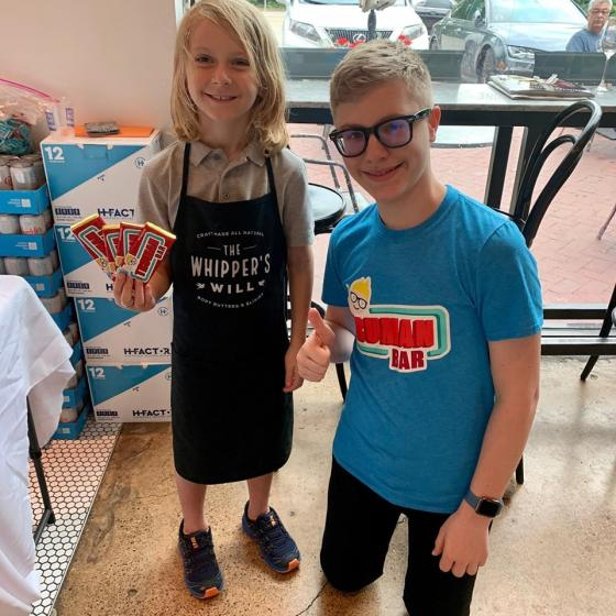 Kid Entrepreneurs Showcase Products at the World Food Championships