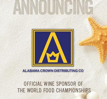 WFC Welcomes Alabama Crown As Official Wine & VIP Partner