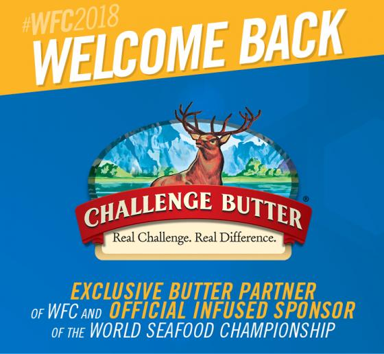 Challenge Butter Spreads the Flavor in WFC's Seafood Category for 2018