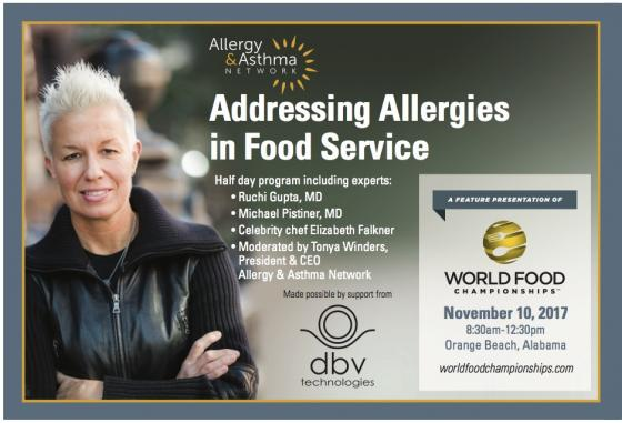 World Food Championships Address Allergies in the Food Industry