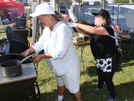 Grilling Grannies Went Head-to-Head At World's Largest Food Sport Event