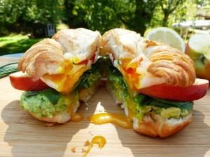 Happy Sandwich Winner in the happy egg co Online Recipe Contest