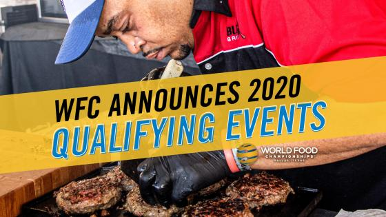 WFC Releases 2020 Qualifying Events