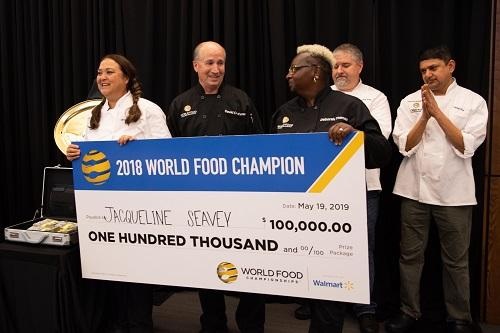 Mississippi Chef Wins $100,000 and is Crowned 7th World Food Champion