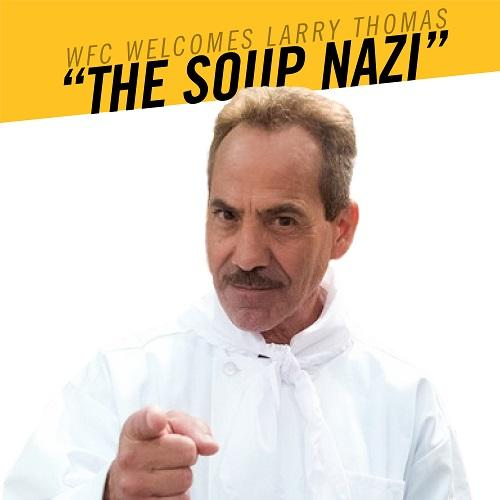 Seinfeld's Soup Nazi Joins the Ultimate Food Fight