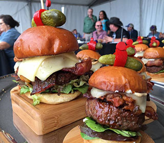 2012 World Burger Champion Jason Stucki Lucky 13 World Food