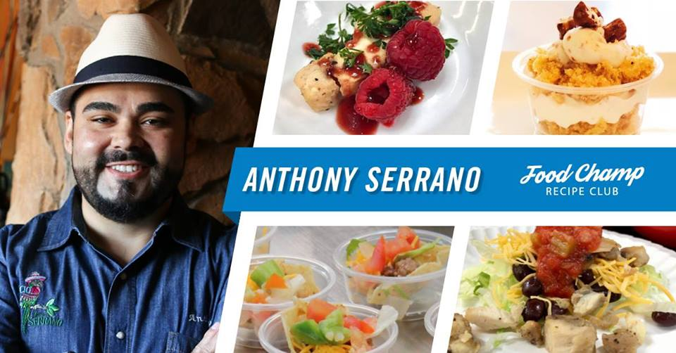 Food Champ Recipe Club - Anthony Serrano -- wmt-food-champ-recipe-club-anthony-serrano.jpg
